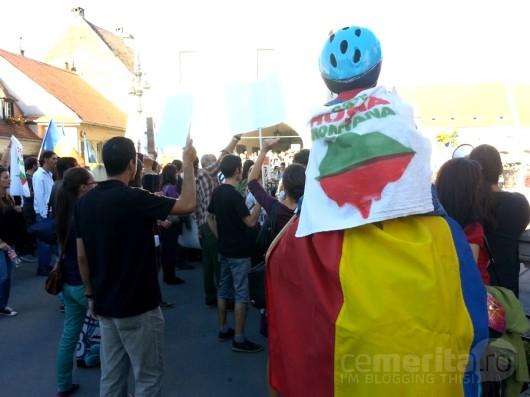 poze protest rosia montana sibiu07