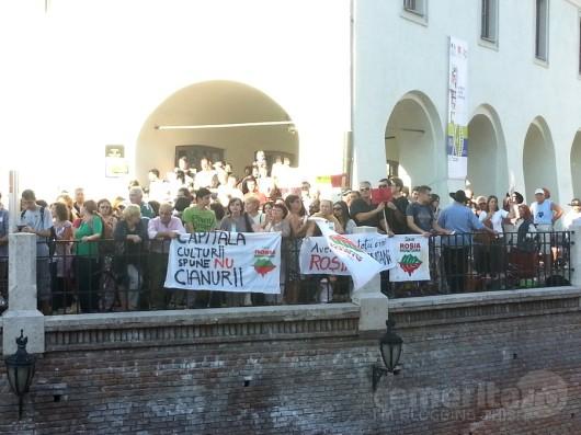 poze protest rosia montana sibiu09