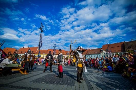 Poze Festivalul Medieval Cetati Transilvane Sibiu 2014_02