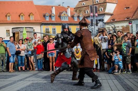 Poze Festivalul Medieval Cetati Transilvane Sibiu 2014_07