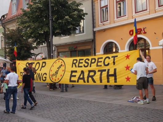 Poze proteste rosia montana sibiu_03