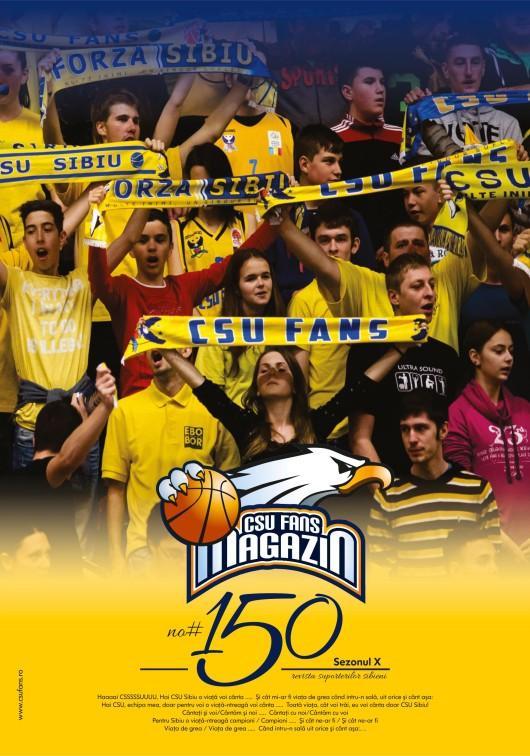 Coperta CSU Fans Magazin nr. aniversar 150