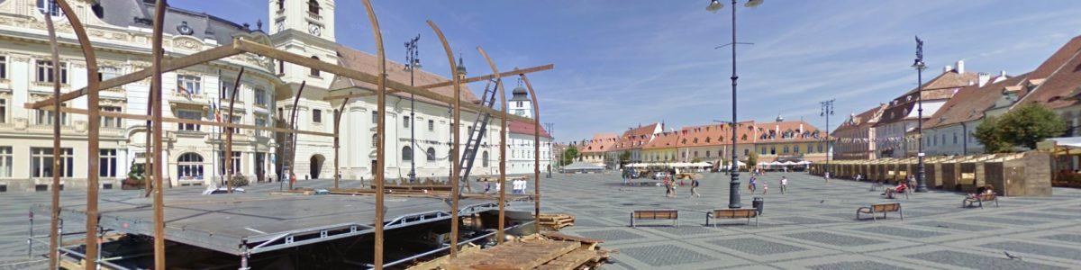 Cum arată Sibiul pe Google Street View?