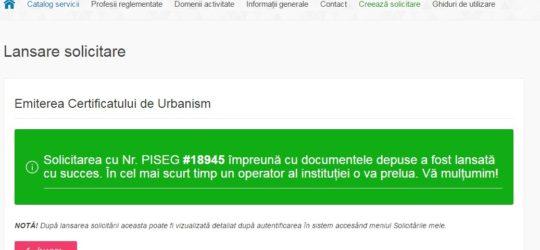 Cum se poate elibera un Certificat de Urbanism online?