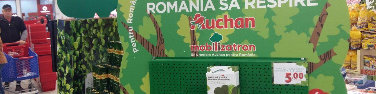 Auchan plantează 10ha. de pădure în 18 judeţe din România. Asta dacă ne mobilizăm și noi