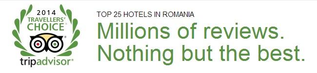 Tripadvisor: Golden Tulip şi Hilton Sibiu în Top 25 hoteluri din România
