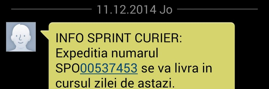 Sprint Curier loveşte din nou!