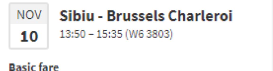 City Break la Bruxelles cu 78 de lei. De la Sibiu.