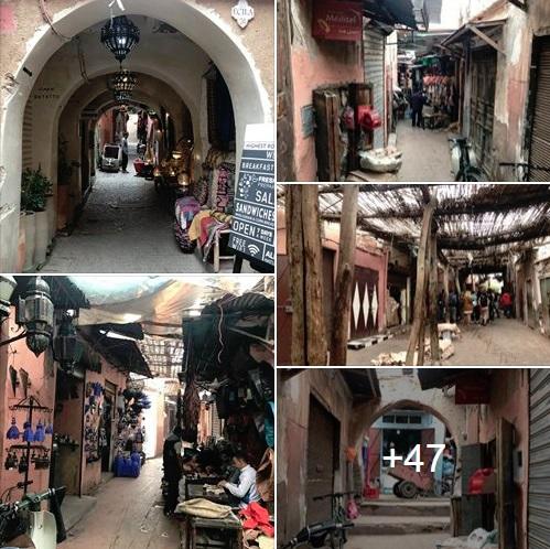 Vezi mai multe poze din bazarul Marrakech-ului