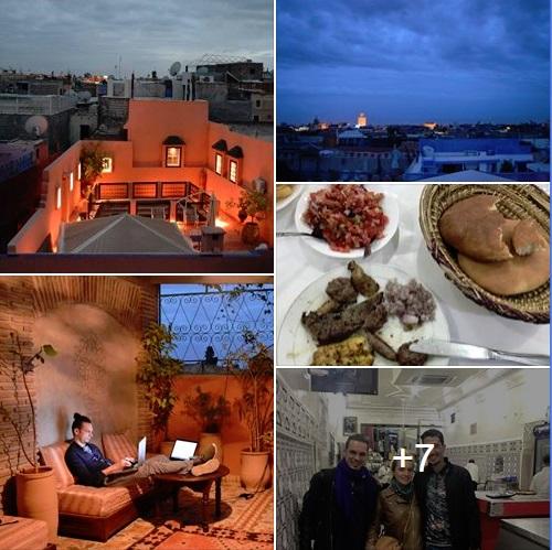 Vezi mai multe poze din Marrakech... pe înserate